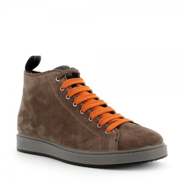 IGI&CO 6130222 scarpa uomo Sneaker scamosciata marrone fango