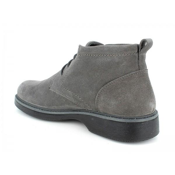 IGI&CO 6106755 scarpa uomo Sneaker fodera Gore-TEx in scamosciato grigio
