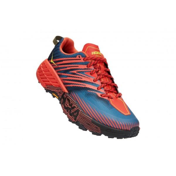 HOKA One One M SPEEDGOAT 4 Wide scarpa uomo Trail running art. 1106528/FPBL