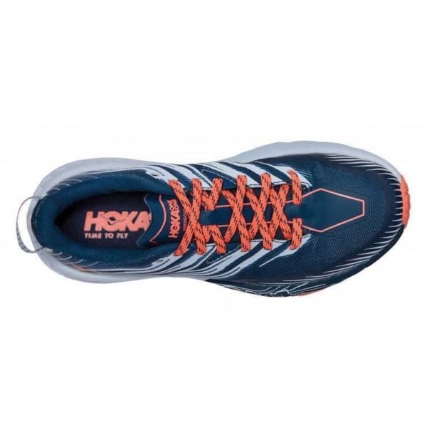 HOKA One One W SPEEDGOAT 4 scarpa donna Trail Runnig art. 1106527/MBHH