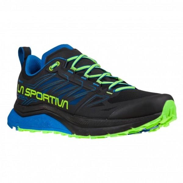 La Sportiva JACKAL GTX scarpa uomo Trail Running 46J 999622 Black/Aquarius