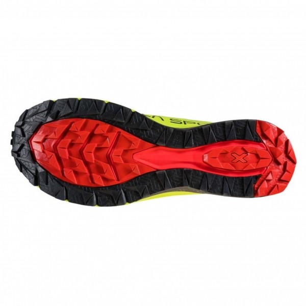 La Sportiva JACKAL scarpa uomo Trail Running 46B 720314 Neon/Goji