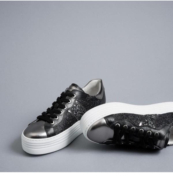 Nero Giardini E010705D/101 scarpa donna Antracite Nero