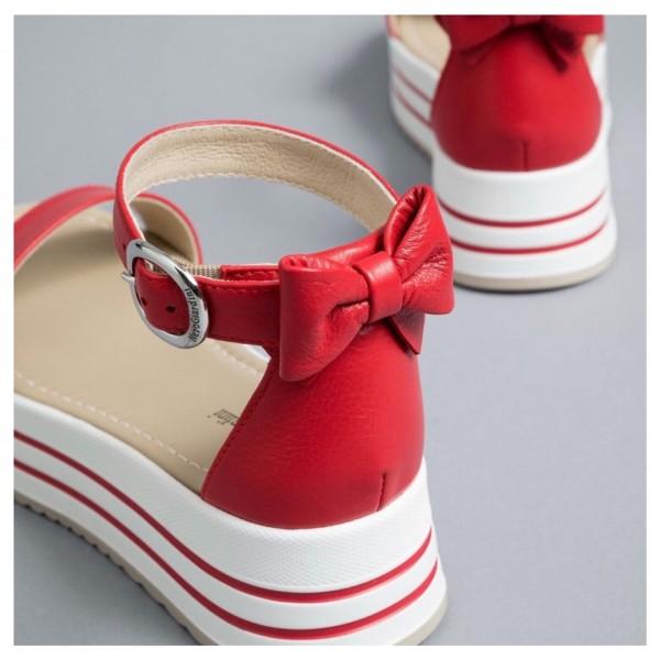 Nero Giardini sandalo donna E012591D/600 rosso